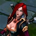 High Command Katarina Costume Da League of Legends