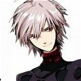 Kaworu Wig from Neon Genesis Evangelion