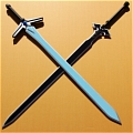 Kazuto Swords (SAO) from Sword Art Online