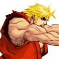 Ken Cosplay von Street Fighter