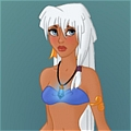 Kida Cosplay De  Atlantis The Lost Empire