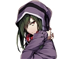 Kido Cosplay (Purple) from Kagerou Project