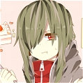 Kido Wig (Light Green,Straigt) from Kagerou Project