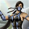 Kitana Cosplay (Purple) Desde Mortal Kombat