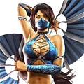 Kitana Cosplay from Mortal Kombat