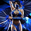 Kitana Costume from Mortal Kombat
