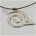 Konoha Necklace Da Naruto