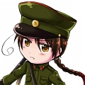 Nordkorea Wig von Hetalia: Axis Powers