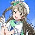 Kotori Cosplay (Wonderful Rush) from Love Live