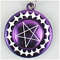 Kuroshitsuji Accessories (Ciel Pentacle Necklace) from Kuroshitsuji
