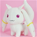 Kyubey Plush from Puella Magi Madoka Magica