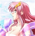 Lacus Cosplay (Pink Dress) from Gundam Seed