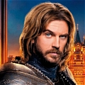 Lancelot Wig from Night at the Museum:Secret of the Tomb