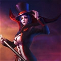 LeBlanc Cosplay Da League of Legends