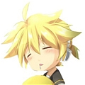 Len Wig (Blond) from Vocaloid