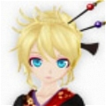 Len Wig (Yukata) from Project DIVA F