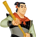 Li Shang Cosplay from Mulan