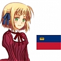 Liechtenstein Cosplay Wig from Axis Powers Hetalia