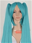Blue Wig (Blue Green,Straight,Michelle)