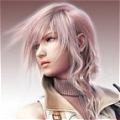 Lightning Wig (2nd) from Final Fantasy XIII