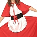 little Red Costume (Kids) Da Cappuccetto Rosso