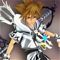 Sora Cosplay (Silver) from Kingdom Hearts