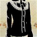 Lolita Blouse (08010100-H)