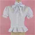 Lolita Blouse (09010401-B White)
