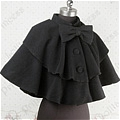 Lolita Cape (09040303-H Black)