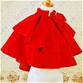 Lolita Cape (09040303-H Red)