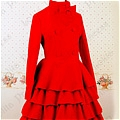 Lolita Coat (08040302-R Red)