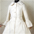 Lolita Coat (09040302-B White )