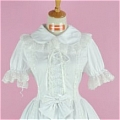Lolita Dress (08030400-B White)