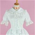 Lolita Dress (08030400-B White)
