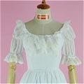 Lolita Dress (09030301-B White)