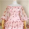 Lolita Dress (10030207-AH Pink)