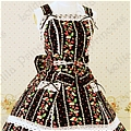 Lolita Dress (10030300-AG Strawberry)