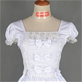 Lolita Dress (Sweety,White)