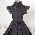 Lolita Dress (07030103-H Black)