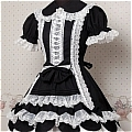 Lolita Dress (08030400-H Black)