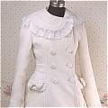 Lolita Dress (08040109-B White)