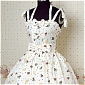 Lolita Dress (09030111-A White)