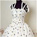Lolita Dress (09030111-A White)