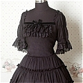 Lolita Dress (09030301-H Black)