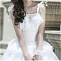 Lolita Dress (09030302-B White)