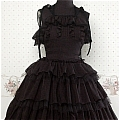 Lolita Dress (09030302-H Black)