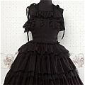 Lolita Dress (09030302-H Black)