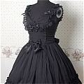 Lolita Dress (09030306-H Black)