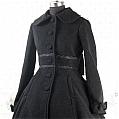 Lolita Dress (09040402-H Black)