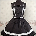 Lolita Dress (10030404-H Black)